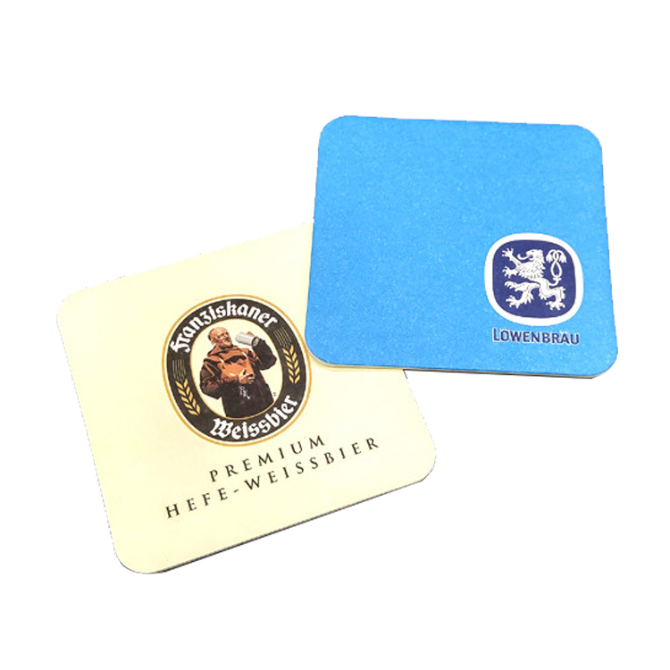 Promotional Personalized Absorbent Seed Paper Coaster