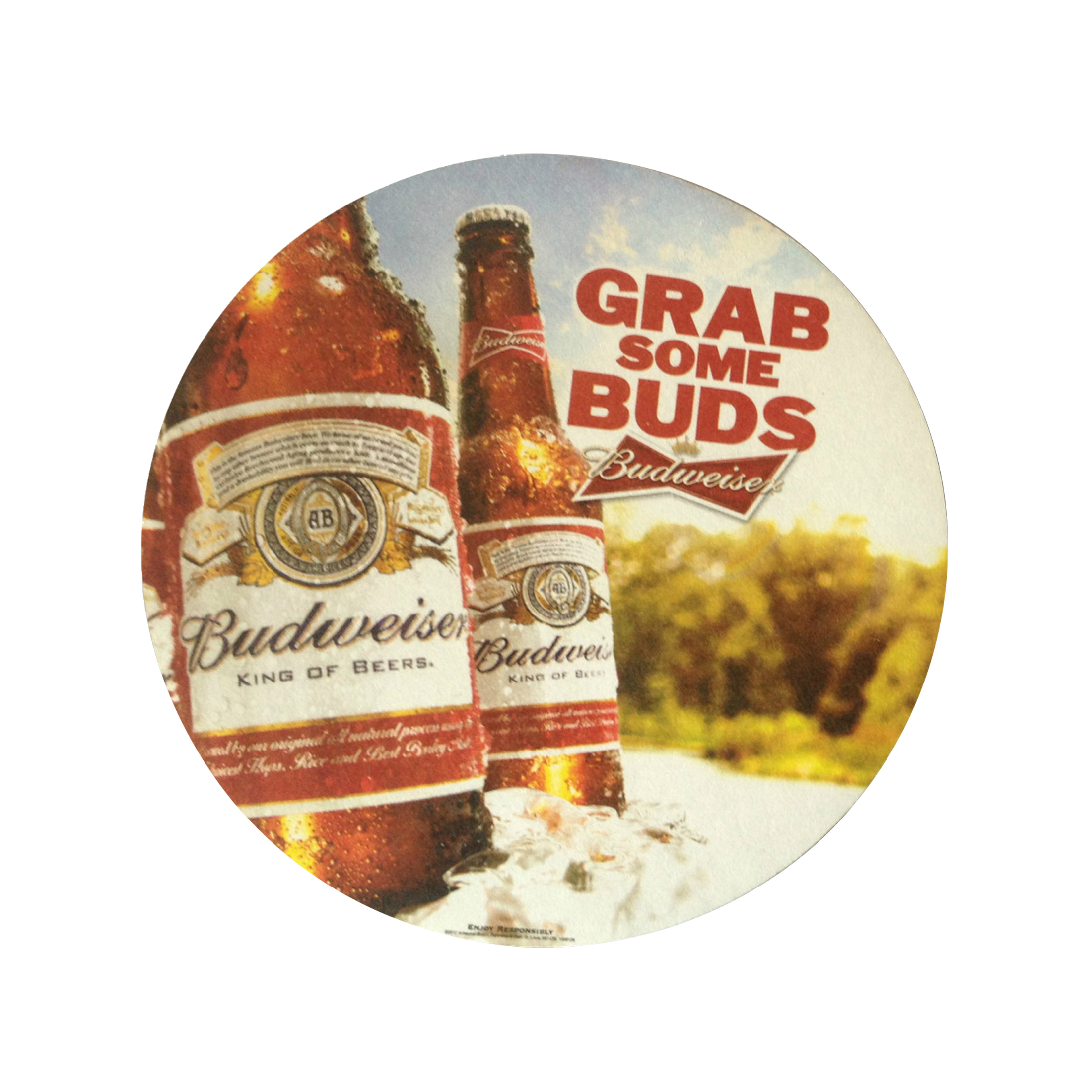 Custom Print Round Paper Drink Absorbent Coasters for Restaurant